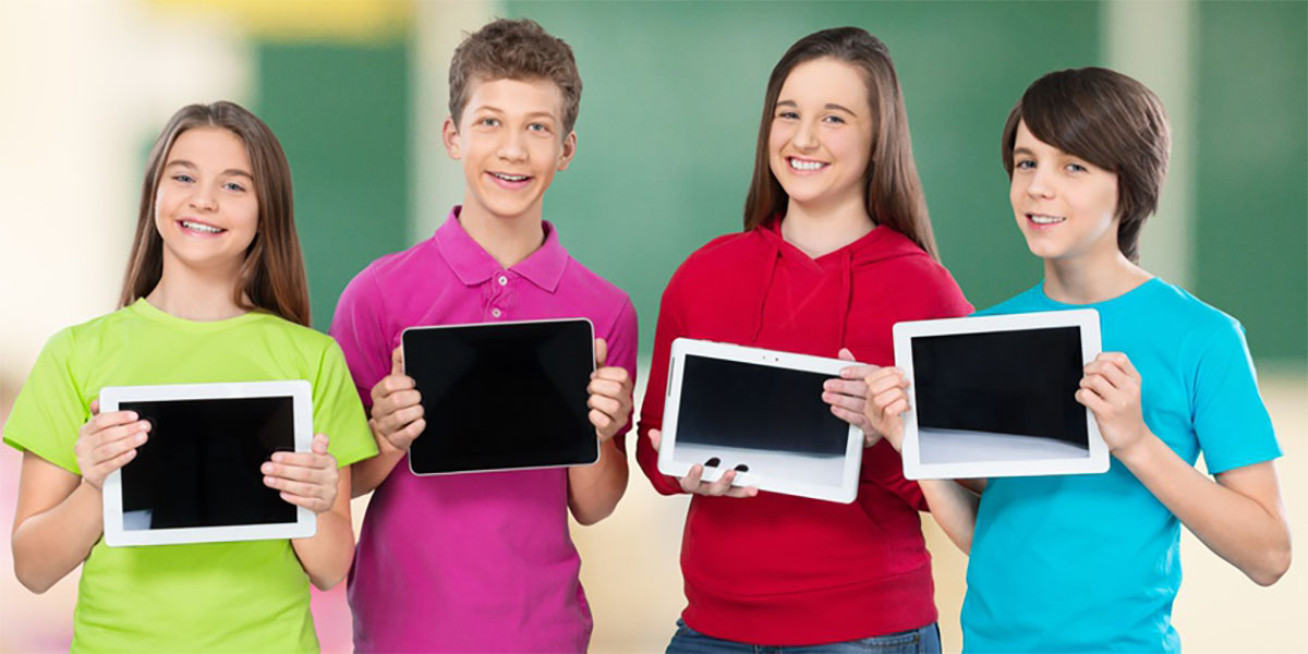 Tablets in der Schule
